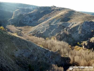 Parque Natural del Barranco Río Dulce;senderismo sevilla rutas senderismo zaragoza